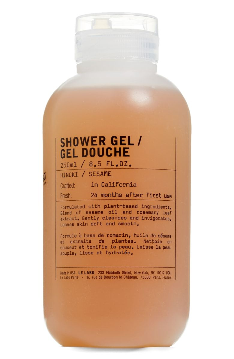 Le Labo Shower Gel Hinoki Nordstrom Shower Gel Gel Paraben Free Products