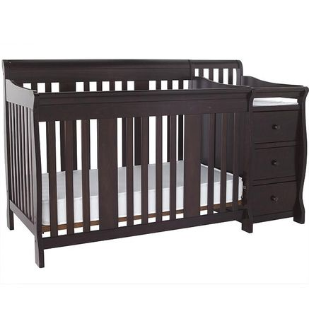 Stork Craft® 'Portofino' 4In1 Crib And Change Table