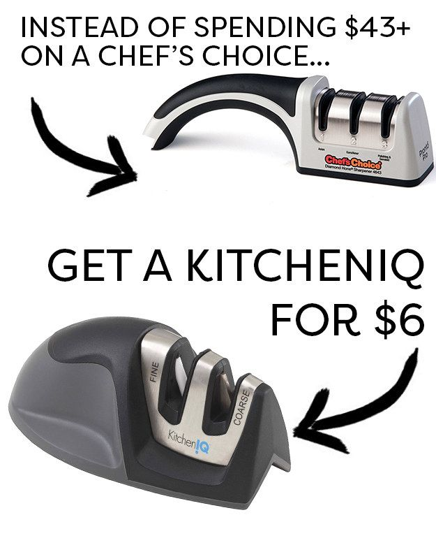 Instead Of A Chef S Choice Knife Sharpener Try A Kitcheniq