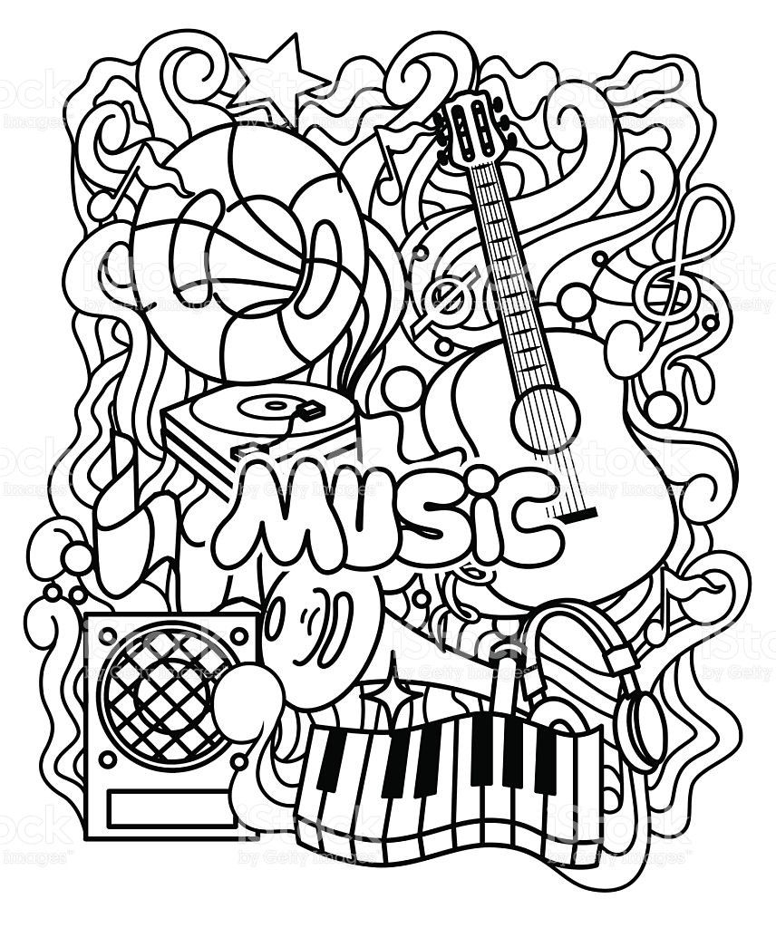 Grab Your New Coloring Pages Music For You Https Gethighit Com New Coloring Pages Music Music Coloring Sheets Music Notes Art Coloring Pages Inspirational [ 1024 x 856 Pixel ]