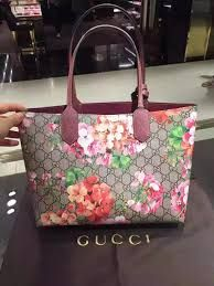 5a29c081f $1,380 GUCCI - Gucci Reversible GG Blooms leather tote - women - SOLD by  GUCCI -