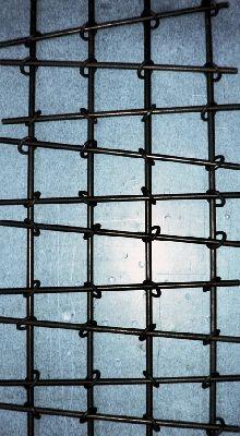 Herrlich Einfach Fenstergitter Aus Stahl Mit Verbindungs Ringen Fenstergitter Gitter Fenster