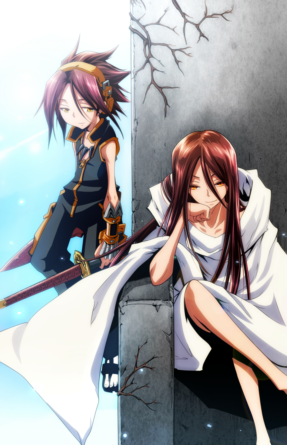 Everything Will Work Out In The End Shaman King Anime King Shaman