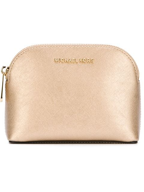 51476430355d Shop Michael Michael Kors gold-tone hardware make up bag in Vitkac from the  world's best independent boutiques at farfetch.com. Shop 400 boutiques at  one ...
