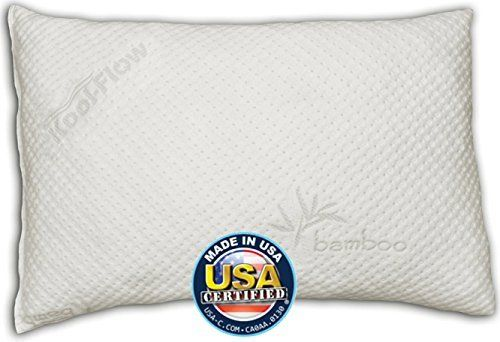 Snuggle Pedic Toddler And Kids Pillow Kool Flow Ultra Luxury