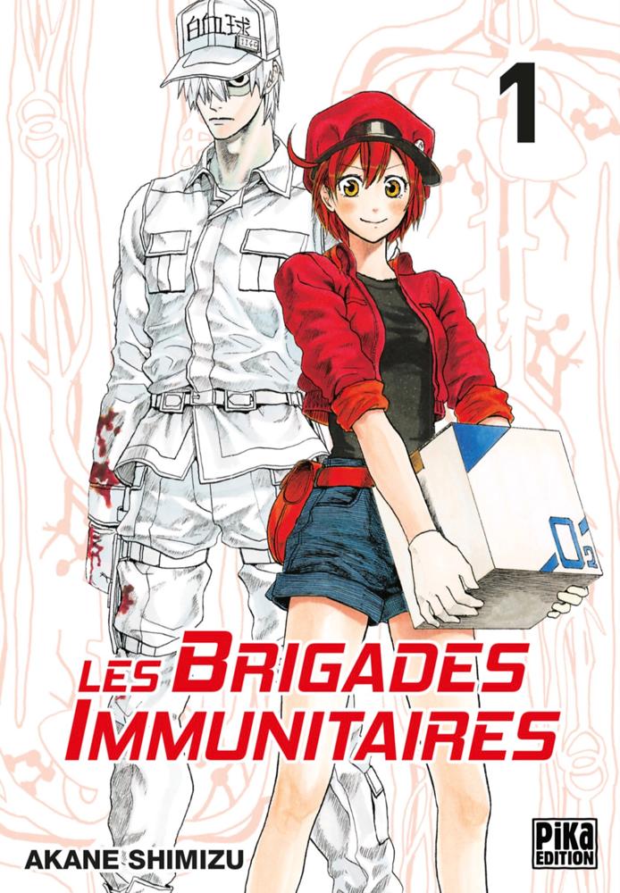 Les Brigades Immunitaires, tome 1 Akane Shimizu