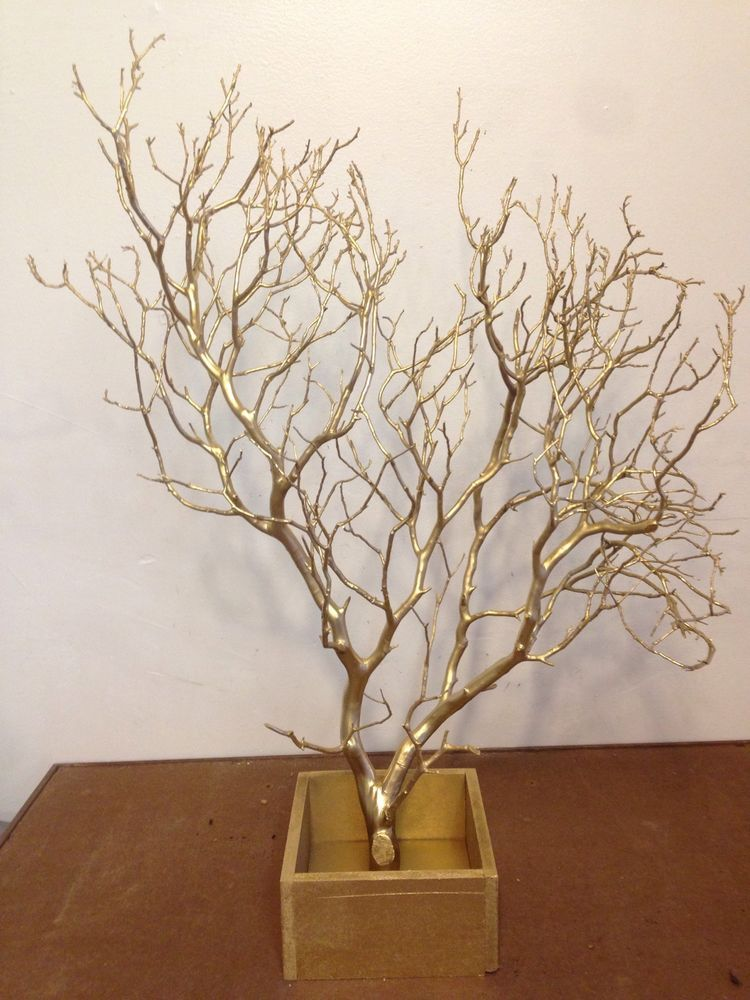 Manzanita centerpiece branch piece quot with wooden