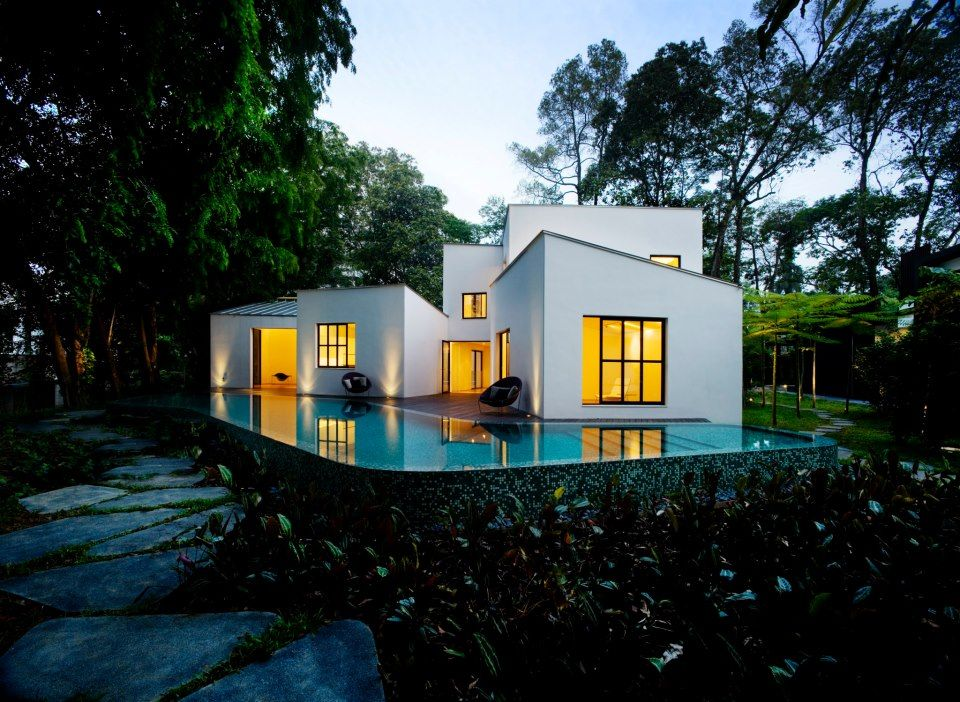 Droomhuis in beeld: The 8 Box House in Holland Park, Singapore
