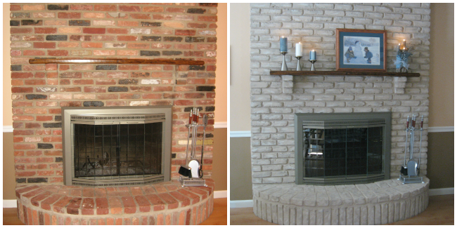 Is Your Current Brick Fireplace Looking Drab And Outdated Are You Searching For Something Tha Brick Fireplace Makeover Red Brick Fireplaces Fireplace Makeover