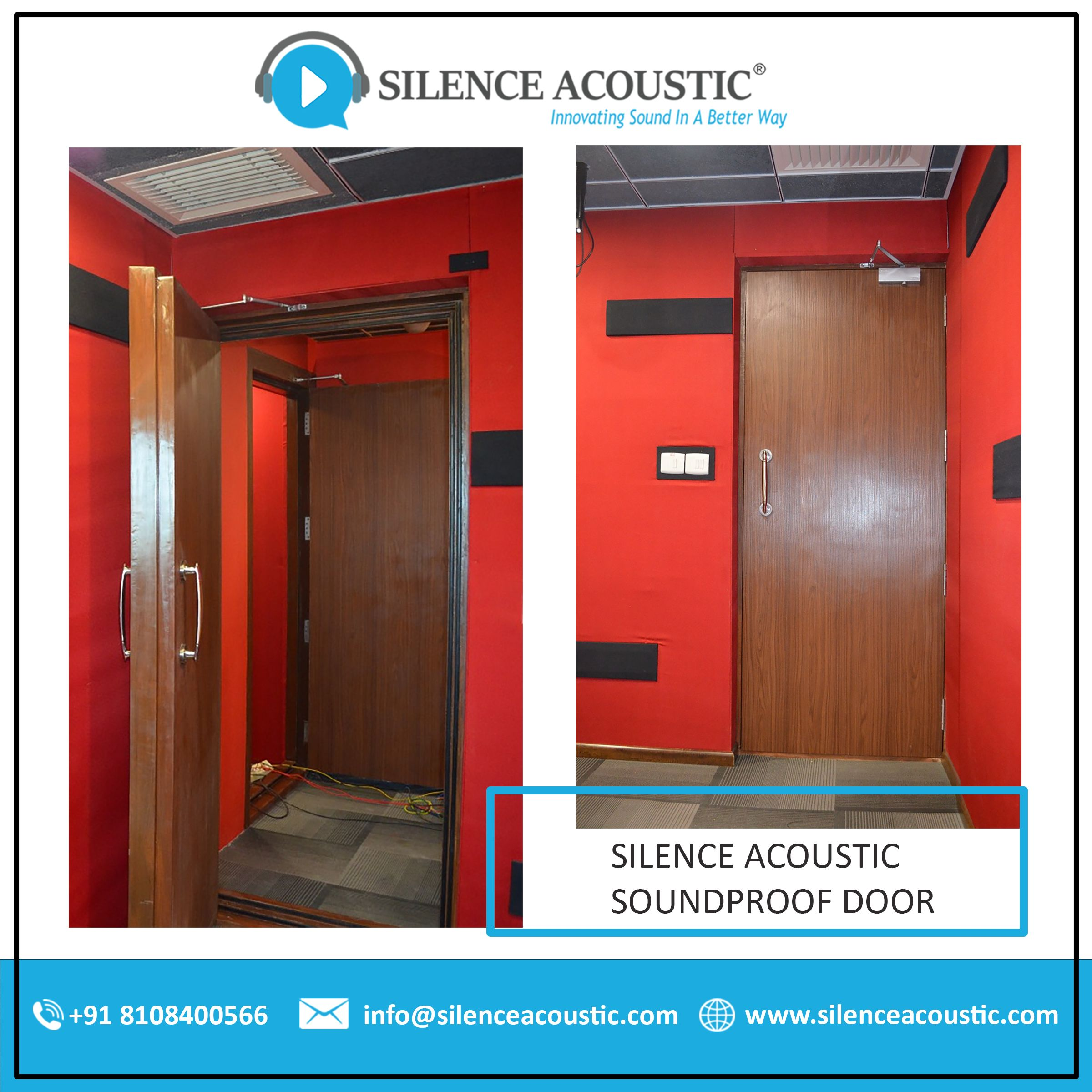 Soundproof Door In 2020 Doors Sliding Door Price Sound Proofing