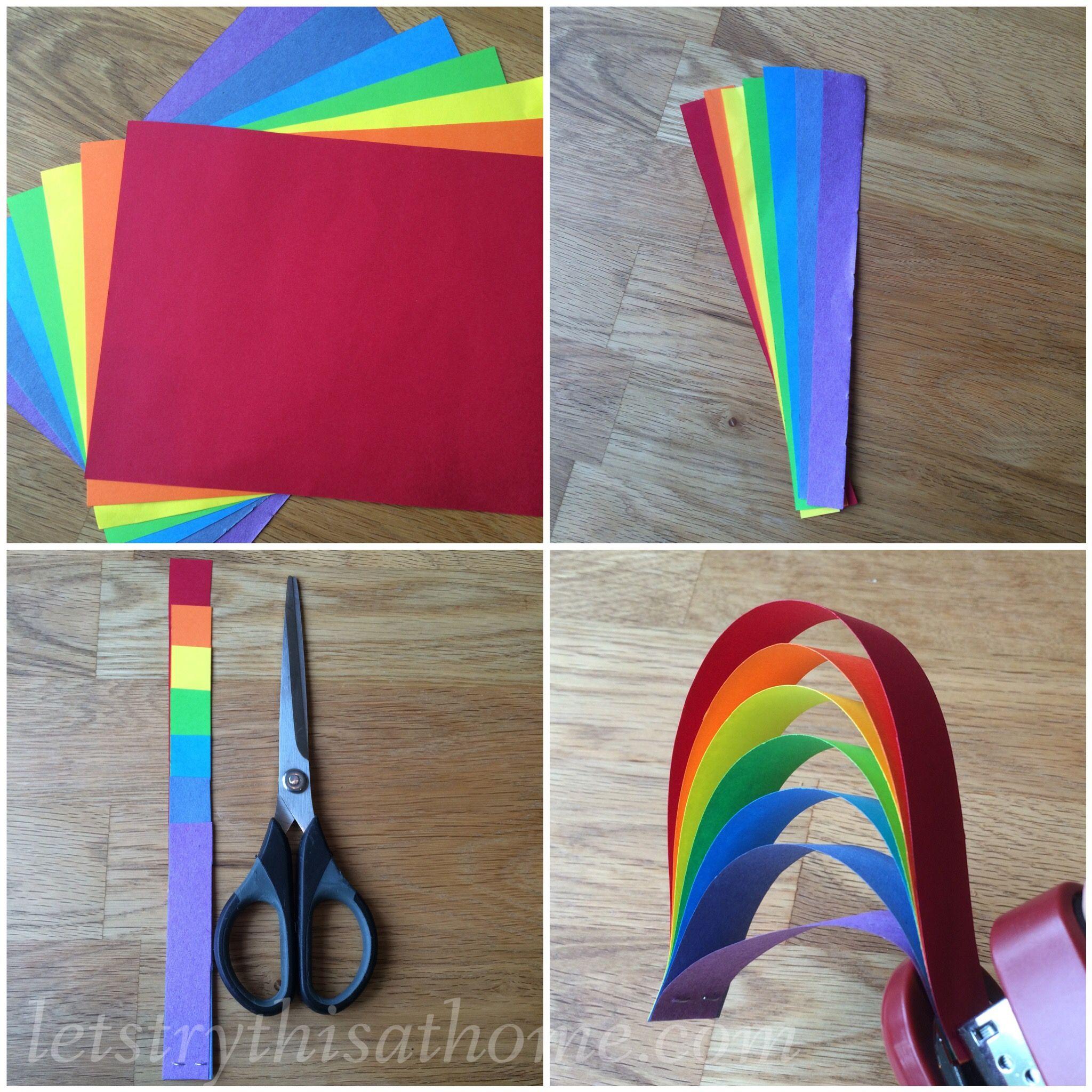 #rainbowcrafts