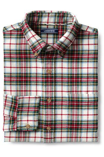 b55a23a6c70a Men s Traditional Fit Long Sleeve Pattern Flagship Flannel Shirt Royal Stewart  Tartan