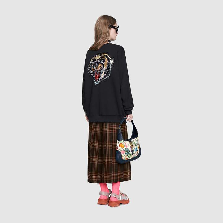 f508692dd9 Gucci Oversize sweatshirt with logo in 2019 | Products | Gucci ...