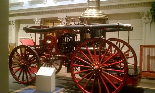 Old Fire truck at the Tennessee Museum