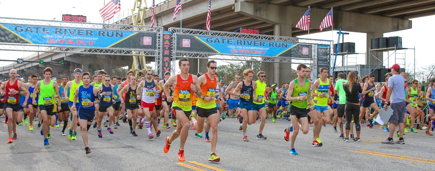 The Gate River Run Official USA 15K Championship