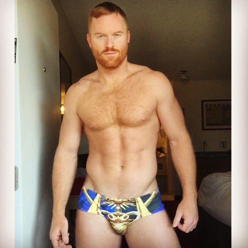 Images - Panty hairy redhead