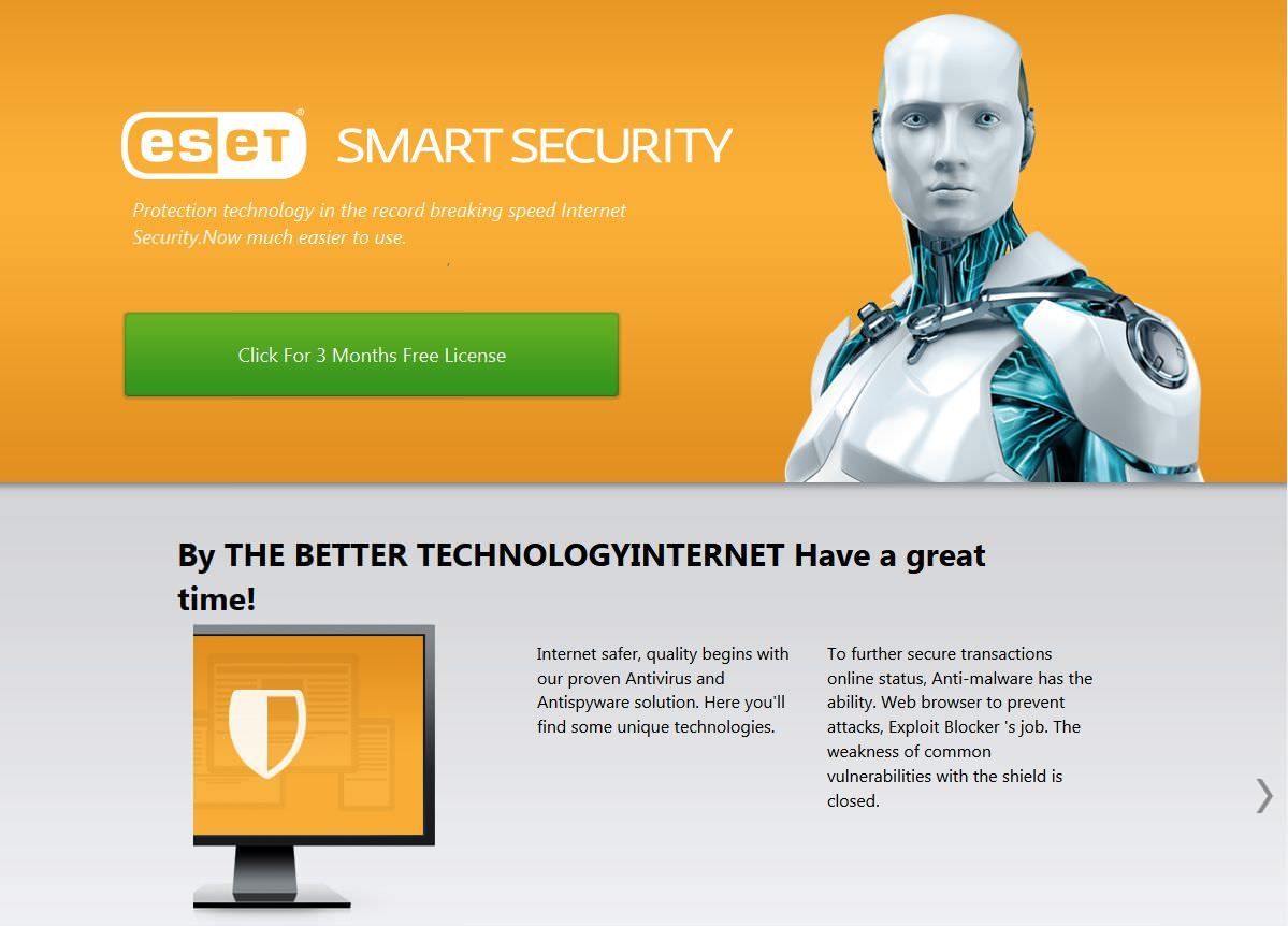 Eset nod32 antivirus 5 2018 | Internet security ...