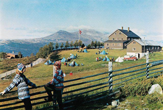 Norge: Den Norske Fjellskolen, Høvringen. pr. Sel st., Gudbrandsdalen, 956 m. o. h. | Flickr - Photo Sharing!