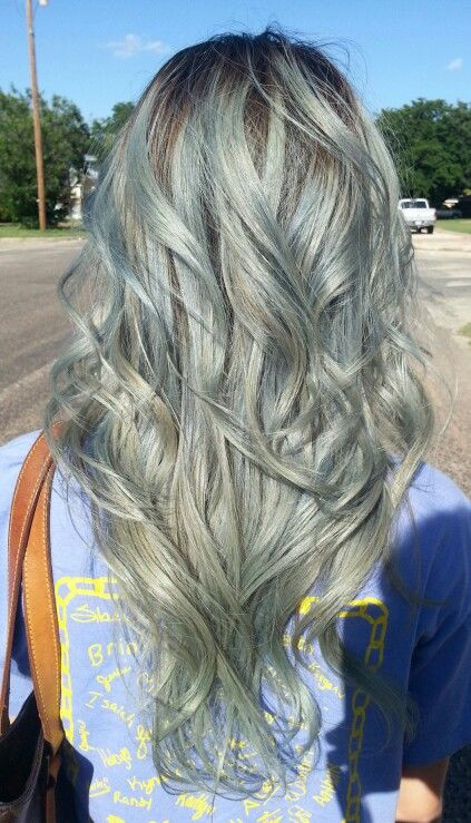 Grey hair with roots. Joico Color Intensity in Titanium on level 10 ...
