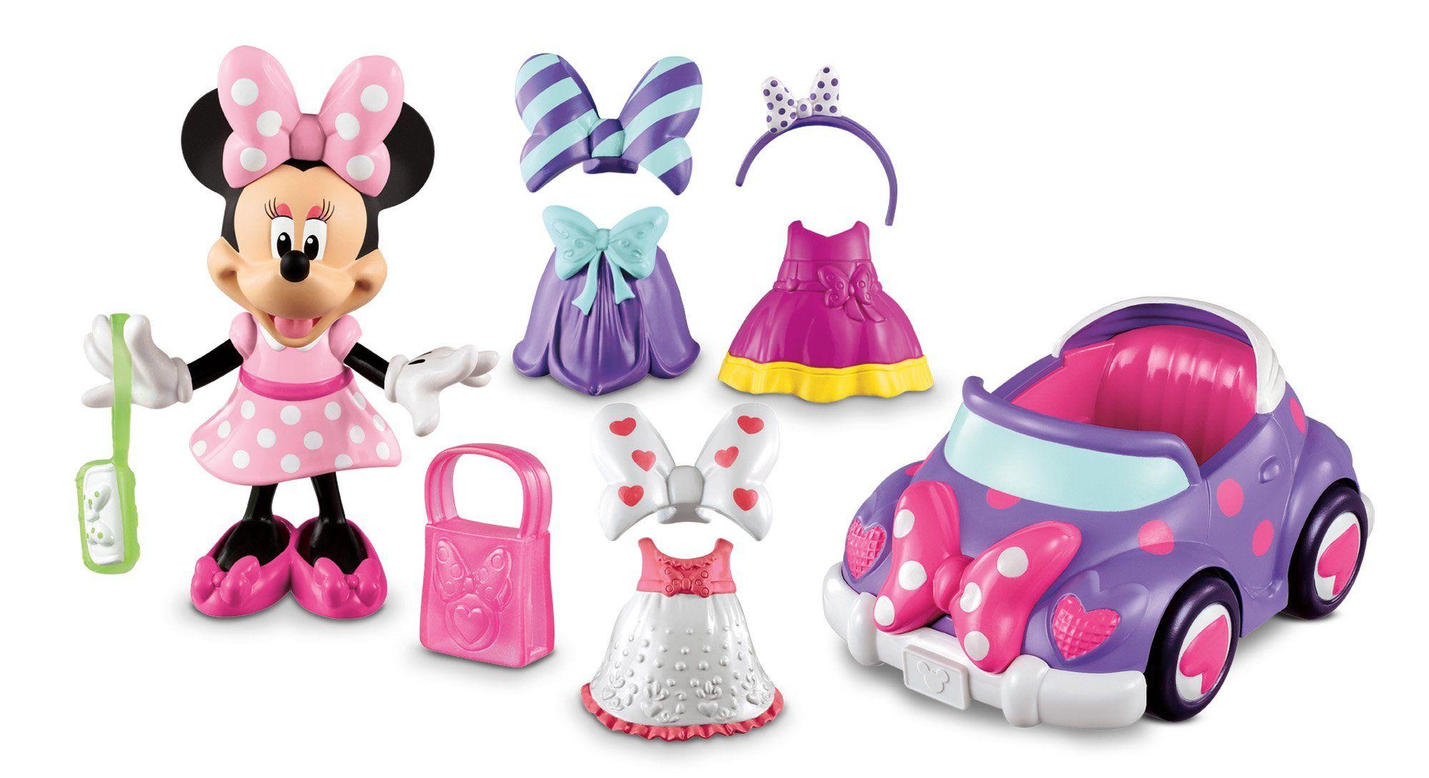 La Casa De Mickey Mouse - Descapotable de Minnie (Mattel Y1892) | W ...
