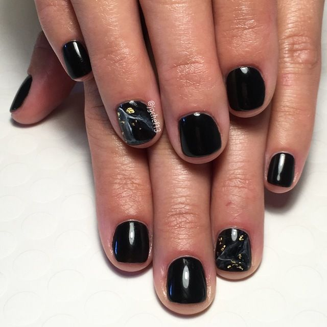 Black mArble by Jgchef13 via Nailstyle.com. This classic black ...