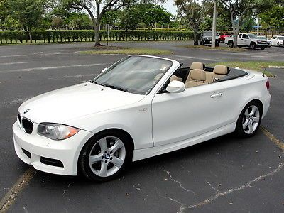 2011 Bmw 135i Base Convertible 2 Door 3 0l With Images Bmw