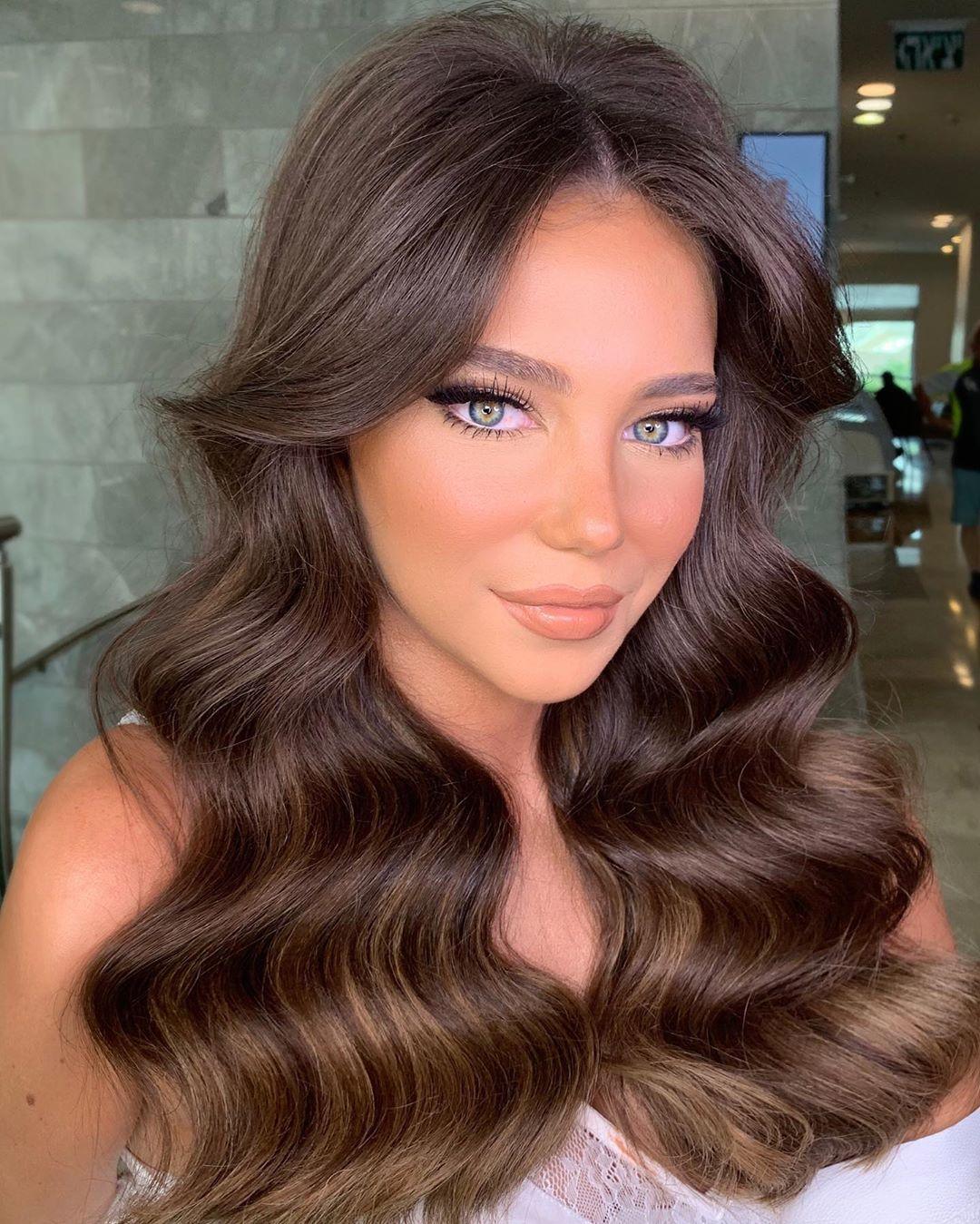 "Photo of Rachel Uzan 》Makeup Artist on Instagram: ""#mybeautifulbride PAZ ✨💫✨ #makeupartist @racheluzan 💄 #hairstyle @dvir_tvik _  Gleam and glow by @diormakeup  #eyeshadow…"""