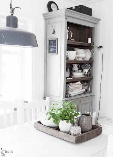 Landhaus Inspirationen Healthy herbs, Rustic interiors and - inspirationen küchen im landhausstil