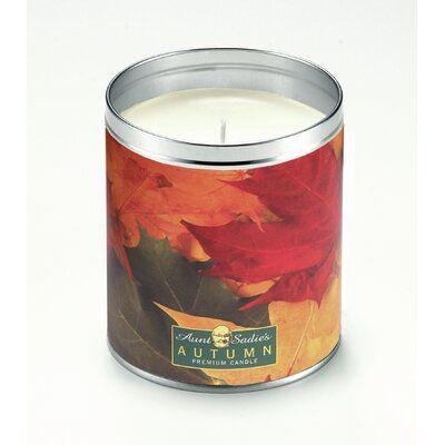 Aunt Sadies Autumn Foliage Cranberry Orange Scented Jar Candle #autumnfoliage