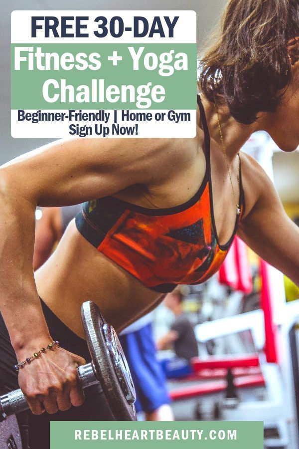 Sign up for the challenge. Download the PDF. Meet your goals. 💪 Beginner-friendly workouts to do at...