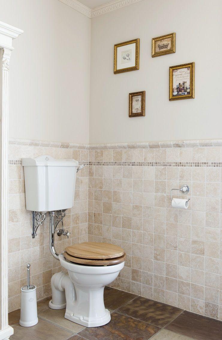 Toilet - toilet room - lavatory - old fashion toilet -mono block ...
