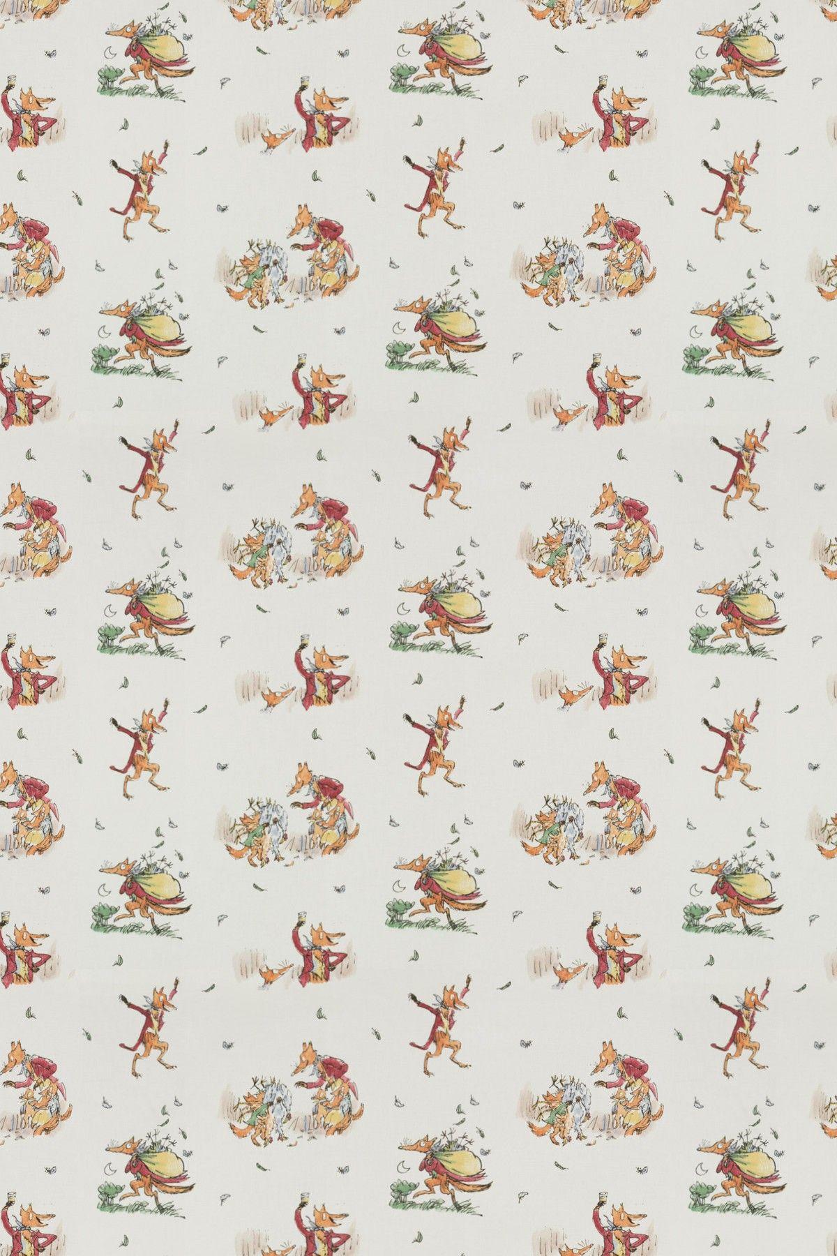 Fantastic Mr Fox By Roald Dahl Wallpaper Direct Fantastic Mr Fox Quentin Blake Illustrations Mr Fox