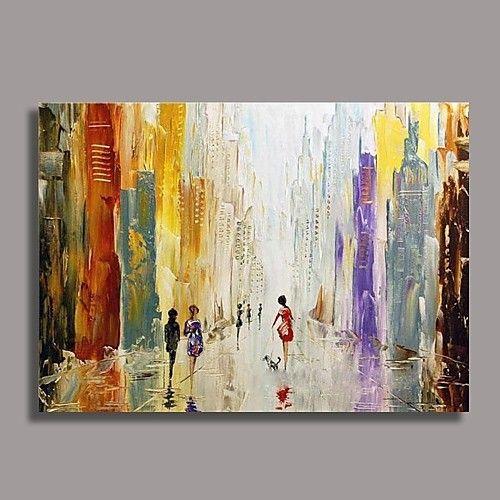Handgemalte Bilder Auf Leinwand handgemalte abstrakt ein panel leinwand hang ölgemälde for haus