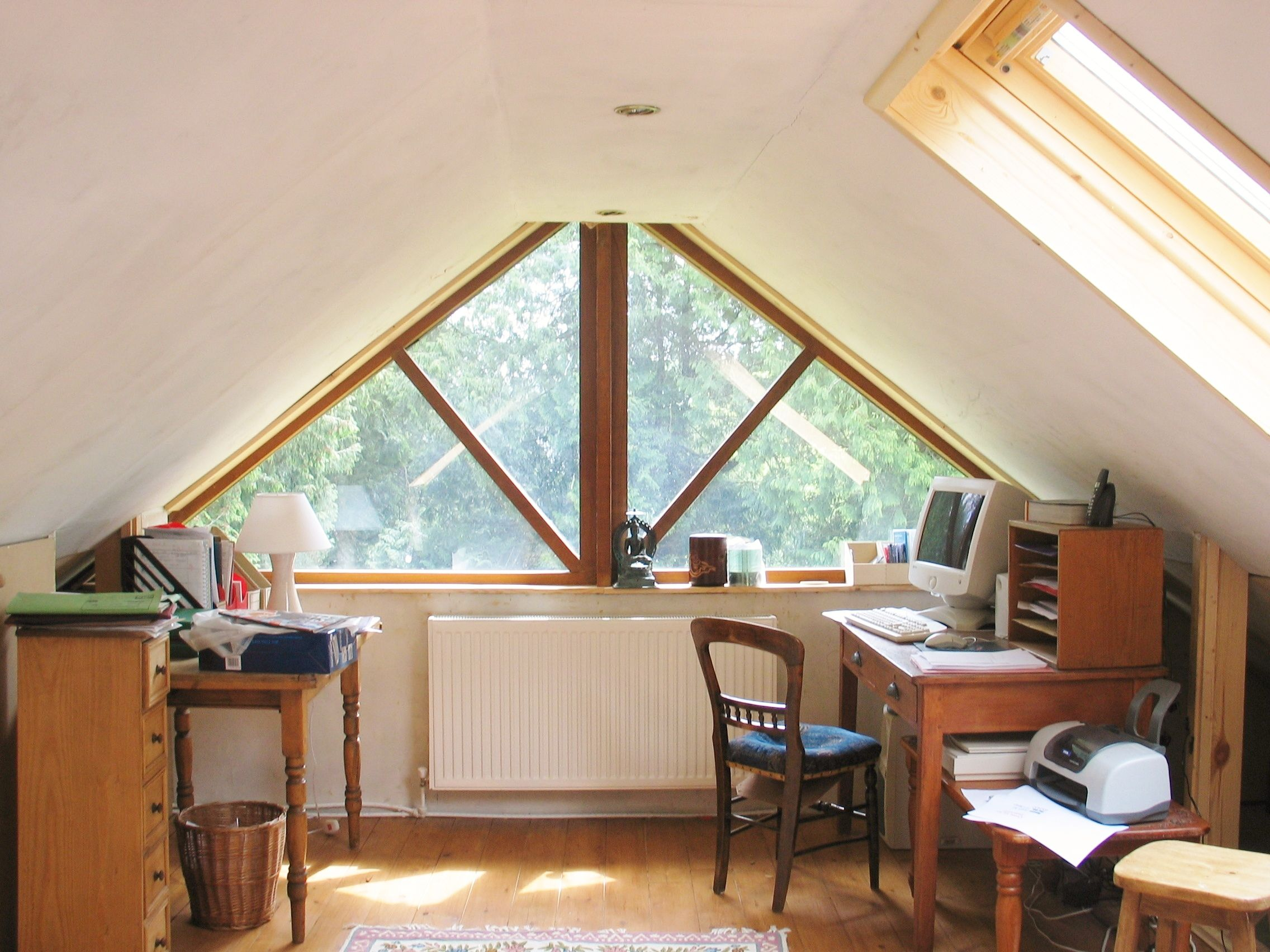 Gable End Window Google Search Gable Window Window Seat Design Loft Room