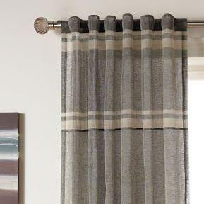 Grey Plaid Curtains Plaid Curtains Kid Room Decor Curtains