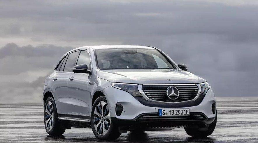2020 Mercedes Benz Eqc New Exterior Look 電気自動車 メルセデス 自動車