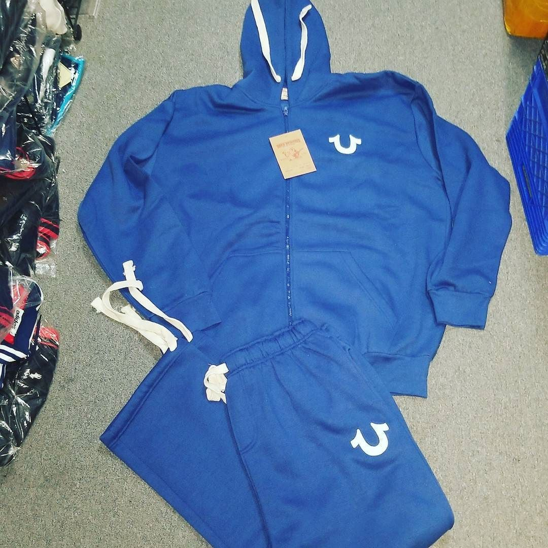 e8f4ea97633 MEN'S TRUE RELIGION JOGGING SUIT $90 royal blue sizes med-4xl ...