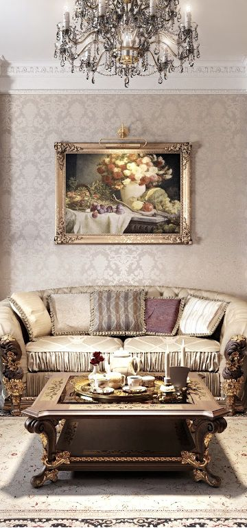 French Flair ○ Living Room  French Country  Pinterest  Living Inspiration French Living Rooms Design Ideas