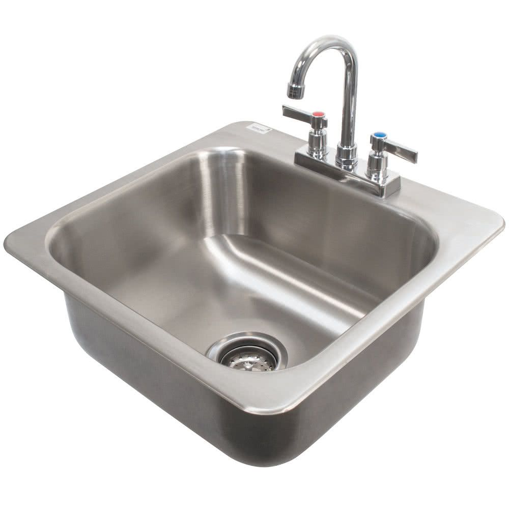 Advance Tabco Di 1 168 Drop In Stainless Steel Stainless Steel