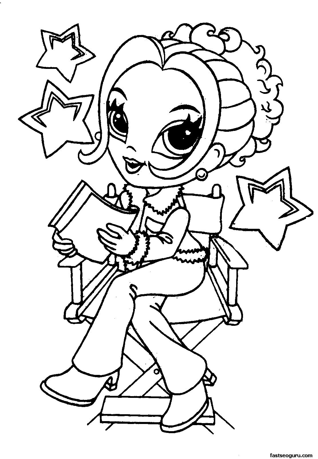 Coloring Pages For Girls Walloid