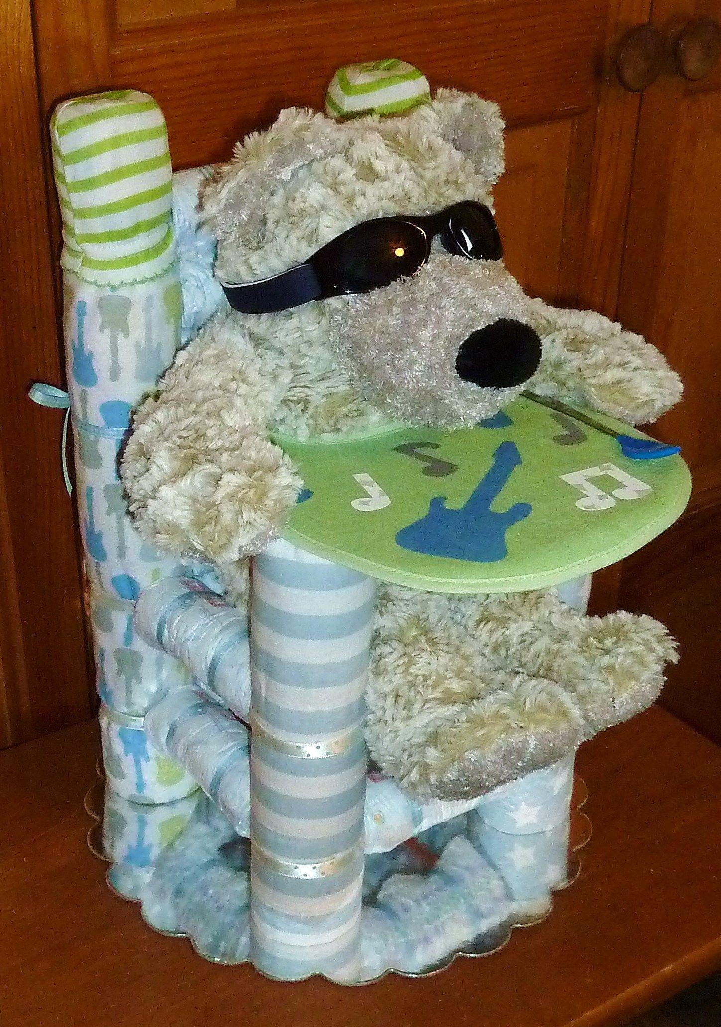 Diaper High Chair - Rock Star Boy www.etsy.com/shop ...