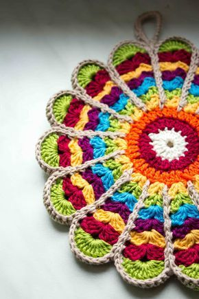 Photo of Green Bird – DIY fashion, decoration and interior: crochet {DIY} potholders