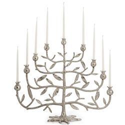 Pomegranate Large Menorah (NP)