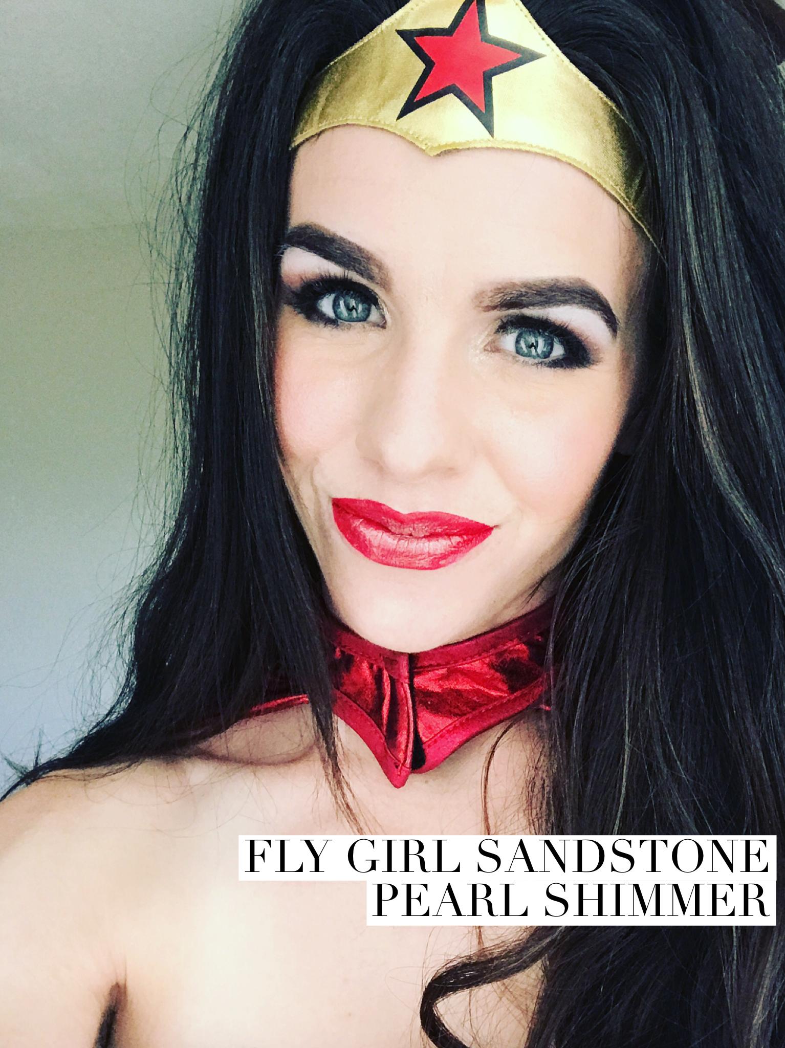 Wonder Woman makeup Look // all SeneGence Makeup
