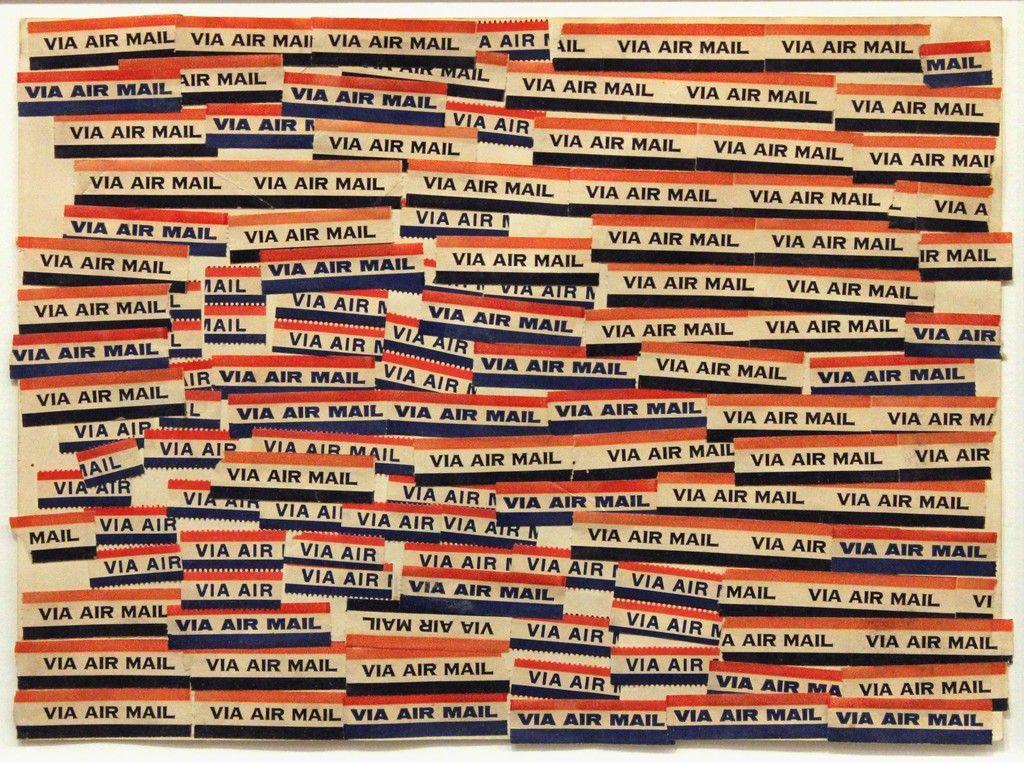 Airmail - Accumulation | Yayoi Kusama, Airmail - Accumulation (1963)