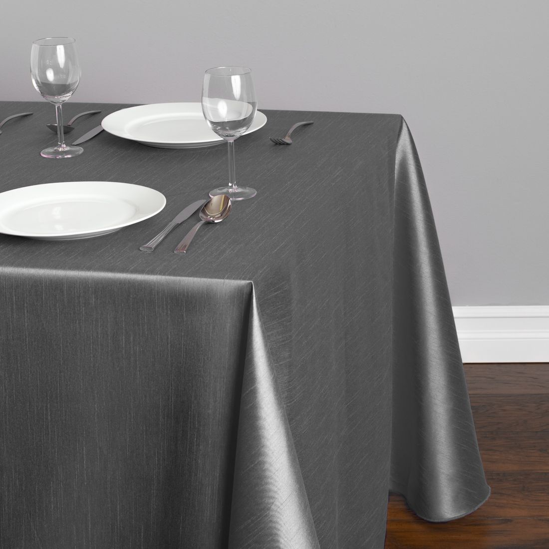 A Silk Tablecloth Is The Luxurious Alternative To Satin, Especially A  Shantung Tablecloth With A Crisp Feel, Subtle U201clinedu201d Texture, And Lustrous  Finish.