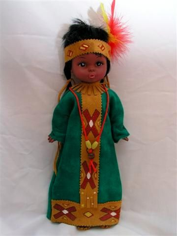 Doll Made by Regal Toy Company | Native Am. Dolls ...