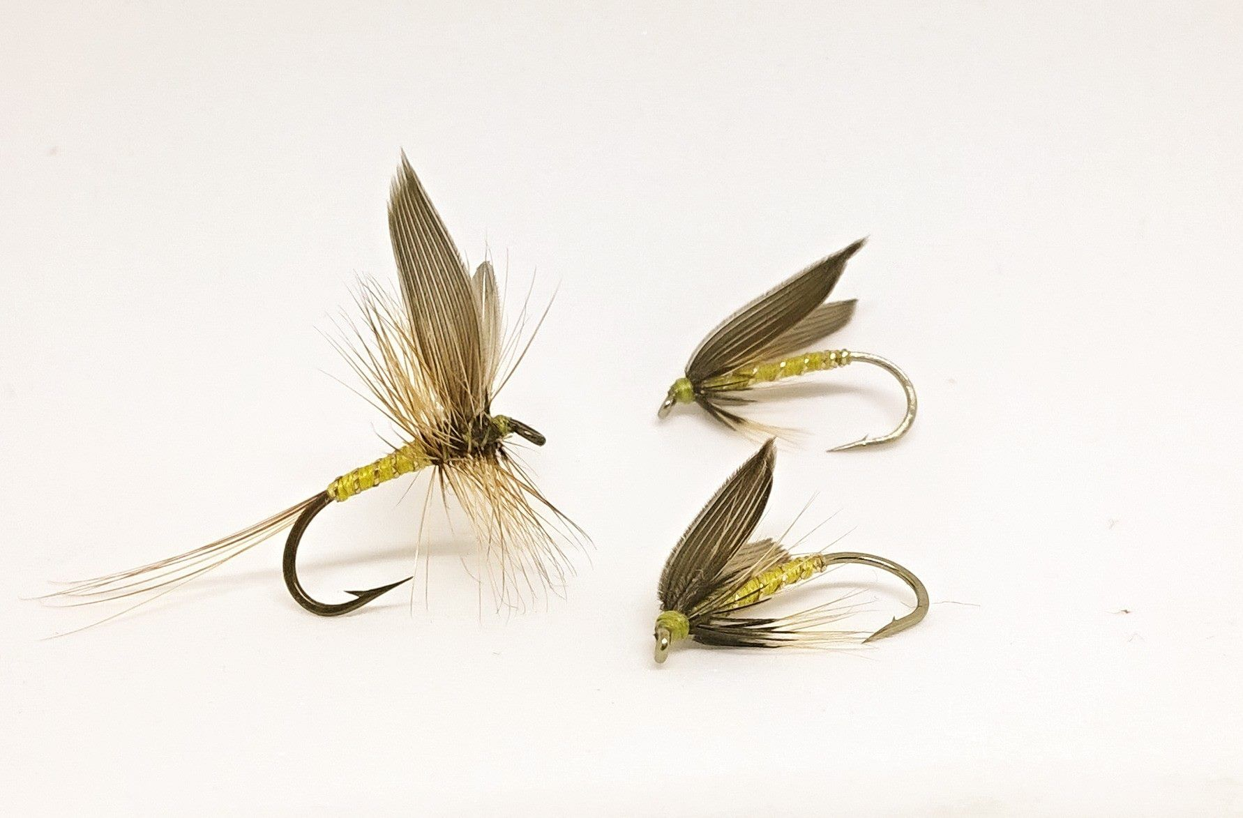 GREENWELL/'S GLORY 12 x #12 DRY FLY FISHING FLIES
