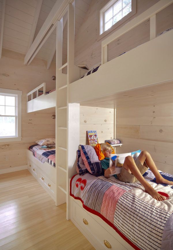 22 Bunk Beds For Four A Space Saving