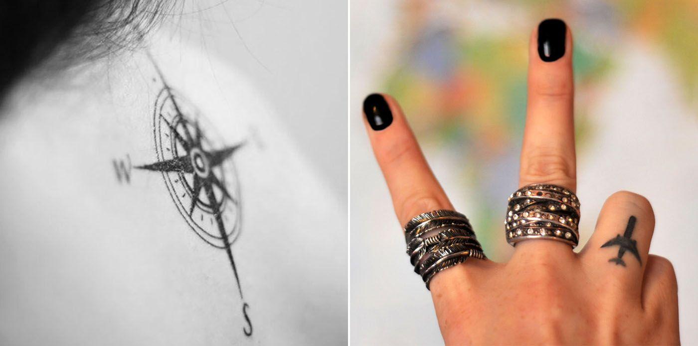 21 ideias para inspirar sua tatuagem de viagem | Nômades Digitais